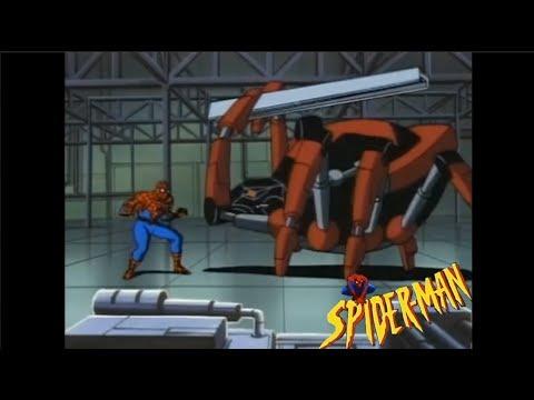 Черная вдова человек паук мультфильм