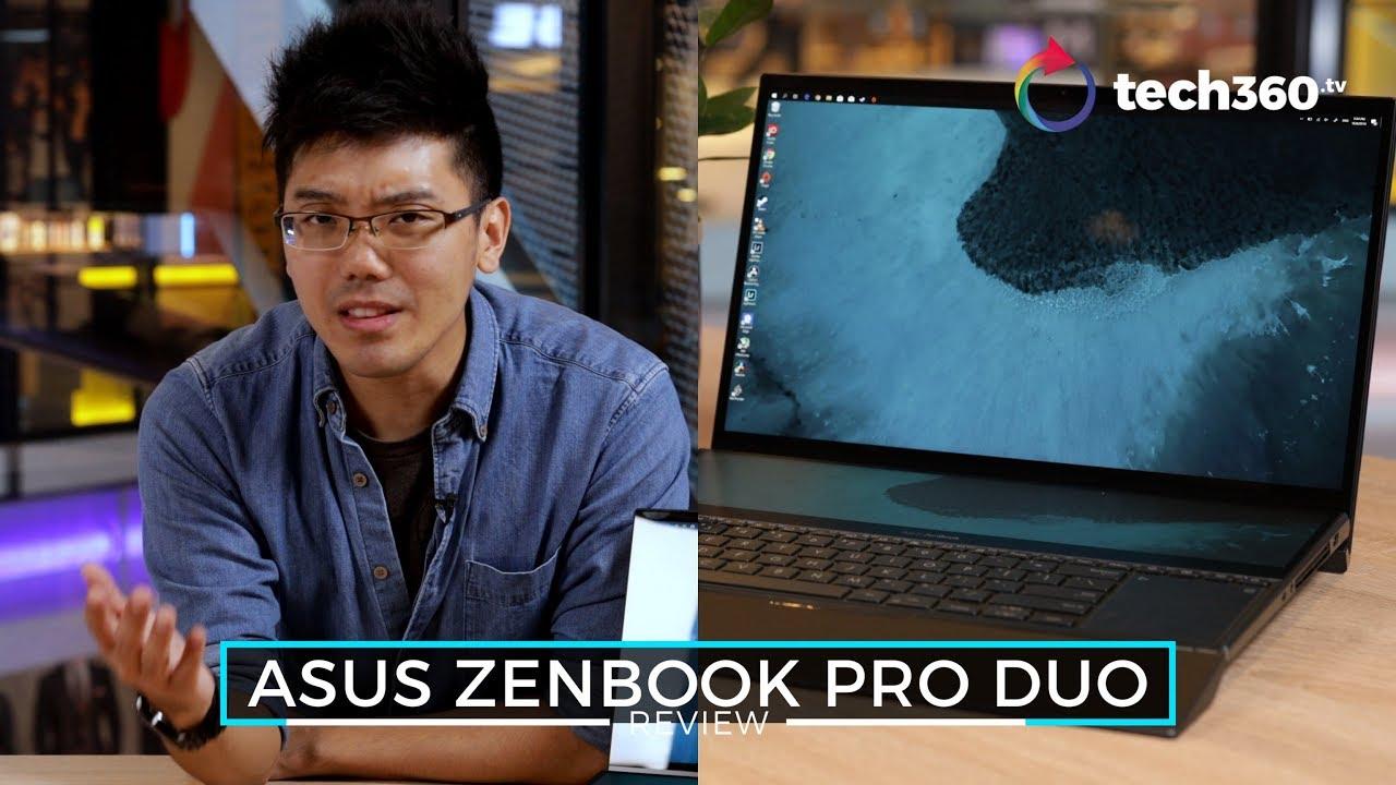Asus ZenBook Pro Duo: An Actual Dual Display Laptop… Kind of?