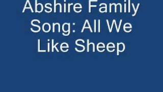 Abshire Family- All We Like Sheep