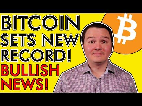 BREAKING! BITCOIN NEW RECORD! Who's Buying 17,100 BTC? Matic, Polka Dot, Cardano News [MEGA Bullish]