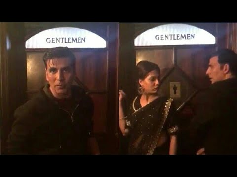 MY SCENE WITH AKSHAY KUMAR FUNNY PROMOTION OF SIDDHARTH MALHOTRA'S GENTELMAN MOVIE IN TOILET WITH ME