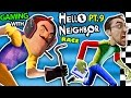 watch he video of HELLO NEIGHBOR vs. ME! BASEMENT RACE CHALLENGE IRL GAMING! Alpha 3 SECRETS REVEALED? (FGTEEV Part 9)