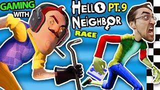 Repeat youtube video HELLO NEIGHBOR vs. ME! BASEMENT RACE CHALLENGE IRL GAMING! Alpha 3 SECRETS REVEALED? (FGTEEV Part 9)