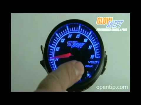GlowShift Elite 10 Color Gauge Series Product Video From Opentip.com