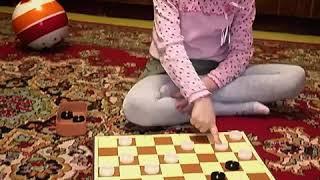 Игры для детей - шашки!