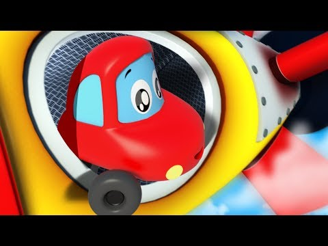 Into The Future | Little Red Car | Kindergarten Songs | Nurs