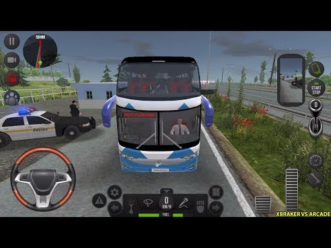 Bus Simulator: Ultimate #11 - New Route Unlocked: Rotterdam To Amsterdam - Android Gameplay