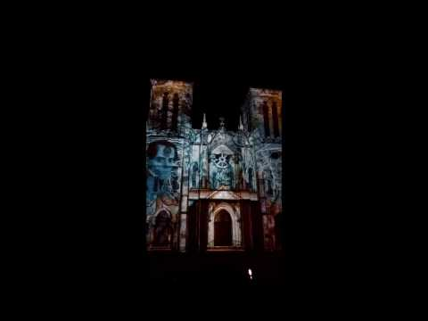 SAN FERNANDO CATHEDRAL LIGHT SHOW 2016