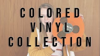 MY COLORED VINYL COLLECTION