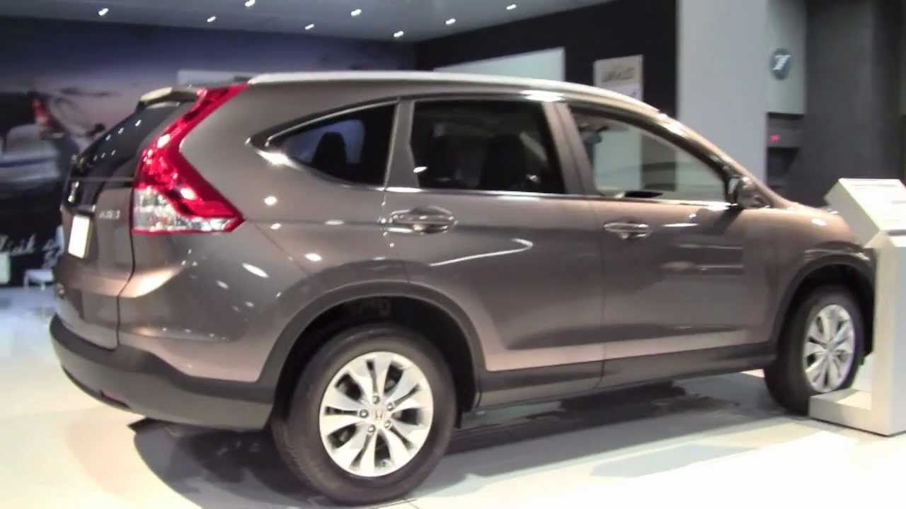 2014 Honda Crv >> 2013 HONDA CR-V AWD at 2012 Washington DC Auto Show - YouTube