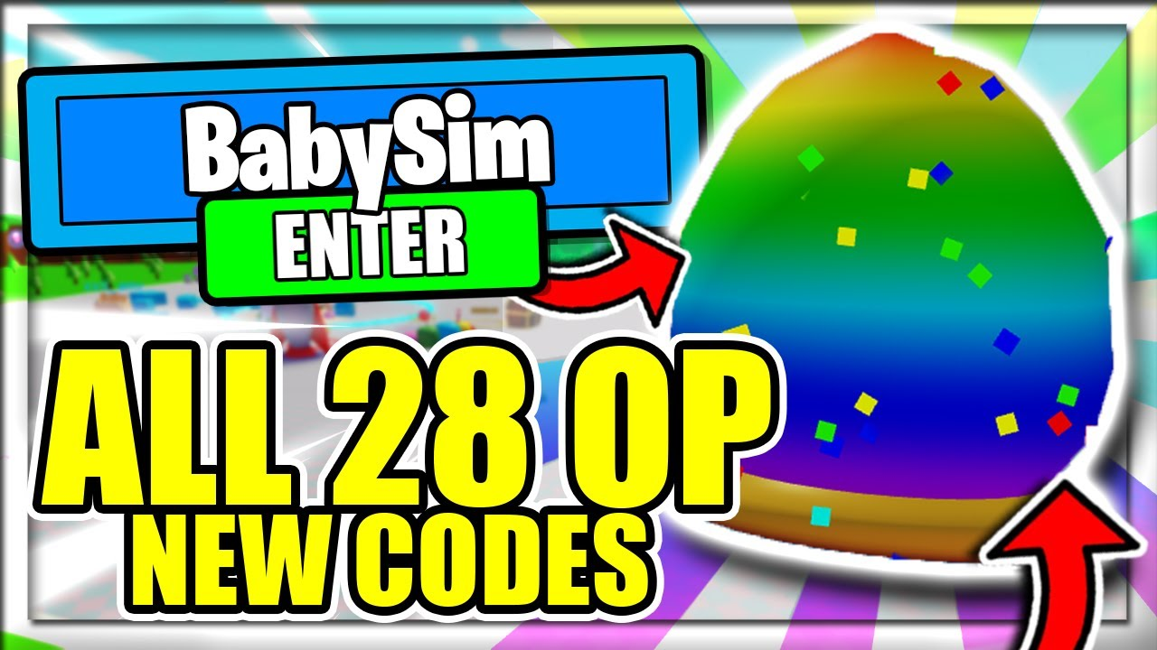 All Latestbaby Simulator Codes Roblox Baby Simulator Codes November 2020 Mejoress