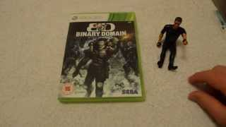 Binary Domain Xbox 360)  Unboxing