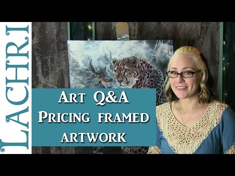 Art Q&A - Pricing and Framing your work w/ Lachri