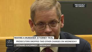 Len Kachinsky Takes the Stand at his Trial Part 1 12/10/18