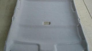 2001 Toyota Corolla Headliner Removal And Fabric Replacement Part 4: Finished Product And Advice