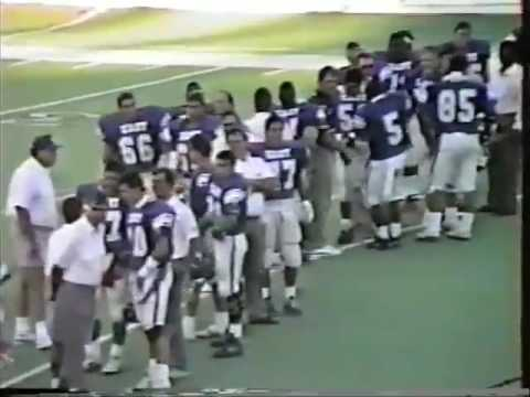 1990 East vs West Oklahoma High School Football All-State Game
