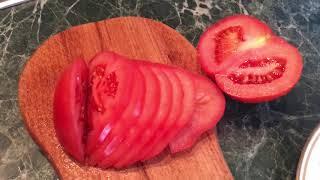 كيفية قطع الطماطم الطازجة