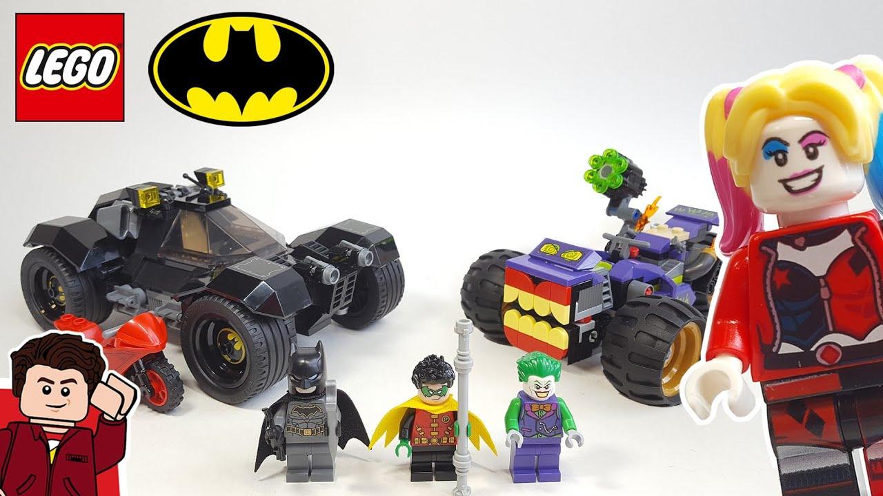 LEGO Batman Joker Trike Chase (76159) Set Review - YouTube