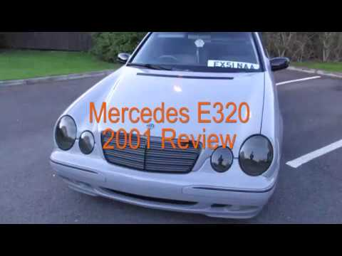 Mercedes e320 2001 review tour thecarclubuk youtube for 2001 mercedes benz e320 review