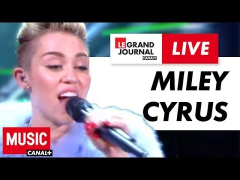 Download Miley Cyrus - We Can't Stop - Live du Grand Journal