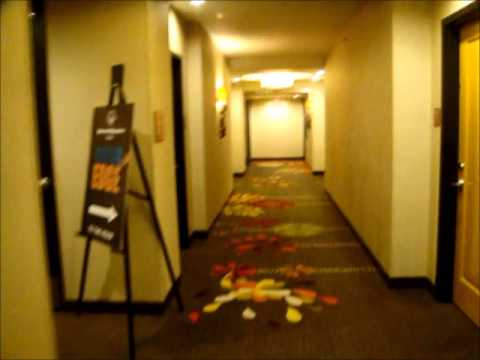 Hotel Tour & elevator ride: Embassy Suites Hotel in Downtown Houston, TX.