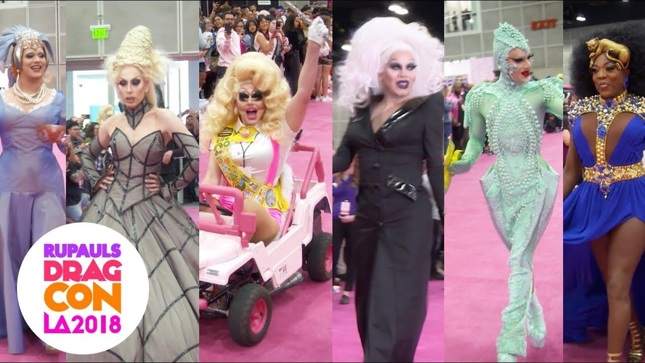 Download Crowned Queen Runway w/ Bebe, Alaska, Trixie, Sharon, Sasha & Jinkx at RuPaul's DragCon 2018: LA