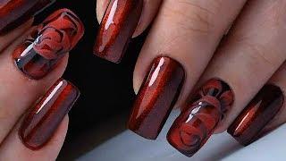 Самый ПРОСТОЙ дизайн и самый Крутой дизайн ногтей Кошачий и Роза ТОП удивителные дизайны ногтей