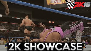 Stone Cold vs Bret Hart - WrestleMania 13 ✦ 【WWE 2K16 - 2K Showcase #3】