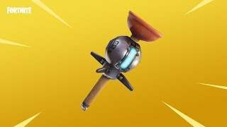 "NEW STICKY ""CLINGER GRENADE"" OUT NOW! (NEW FORTNITE UPDATE GAMEPLAY)"