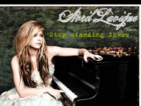Avril Lavigne - Stop Standing There:歌詞+中文翻譯