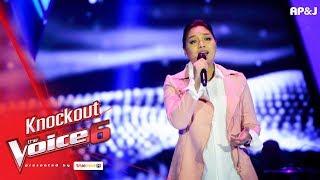 แอมป์ - เคยรักเธอหรือเปล่า - Knock Out - The Voice Thailand 6 - 21 Jan 2018