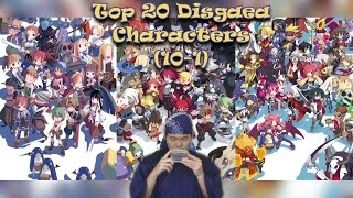 Top 20 Disgaea Characters (10 - 1)