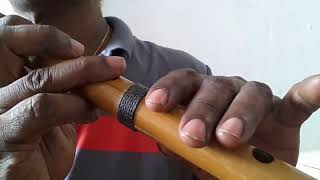 32) Flute with Thilak How to play Dawasak pela nethi hene