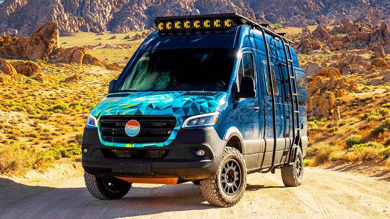 4X4 Sprinter Van For Sale >> Inside Nomad Vanz 200 000 Off Road 2019 Mercedes Sprinter