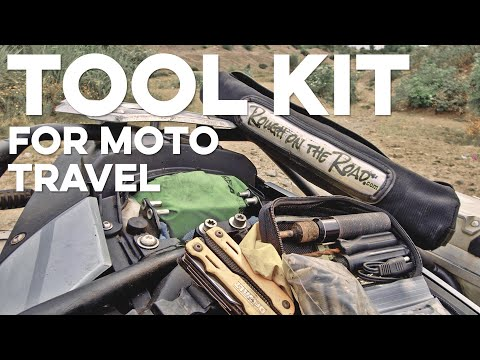 How to Store Tools on BMW F800GS / F700GS Adventure Motorcycle without Panniers