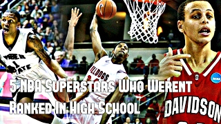5 NBA Superstars Who Weren't Nationally Ranked in High School