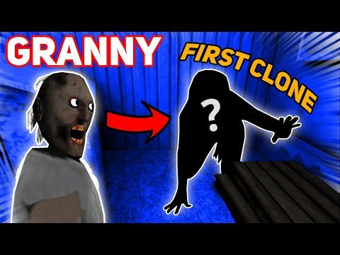 The First Clone Granny Ever Made!!!! (SAD STORY) | Granny The Mobile Horror Game (Story)