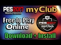 [PES 2017] myClub Free to Play | Download for PC, PS3, PS4, Xbox