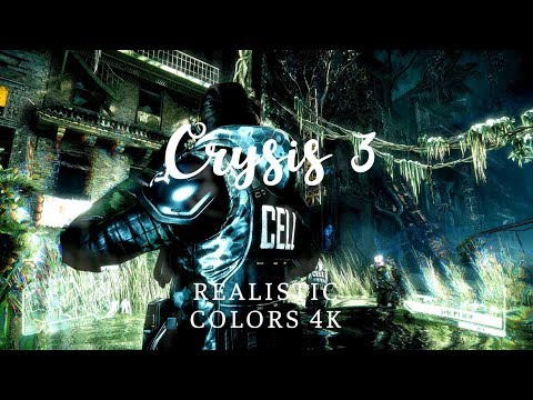 Realistic colors 4k Crysis 3 [China Town]
