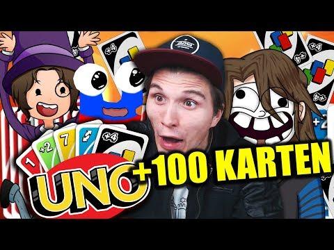 Die +100 KARTEN UNO Challenge (XXL Folge)