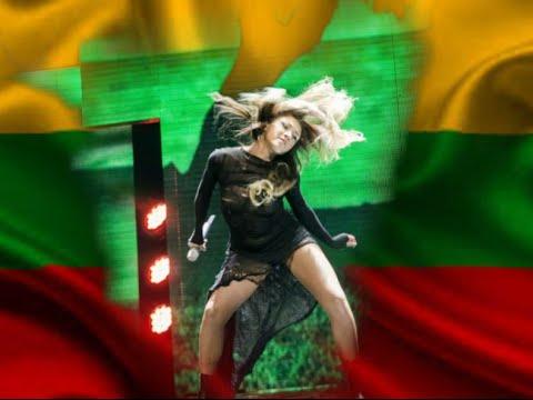 """Eglė Jakštytė atliko dainą """"Leisk dar būti"""" (2016) Eurovision Song Contest"""