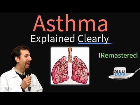 Asthma Explained Clearly Remastered - Pathophysiology Diagnosis Triggers