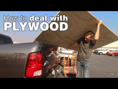 Learn how to break down plywood. A information to reducing, shifting and hauling plywood by your self.