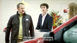 Free Cake - Direct Line Car Insurance Ad - Alexander Armstrong And Chris Addison