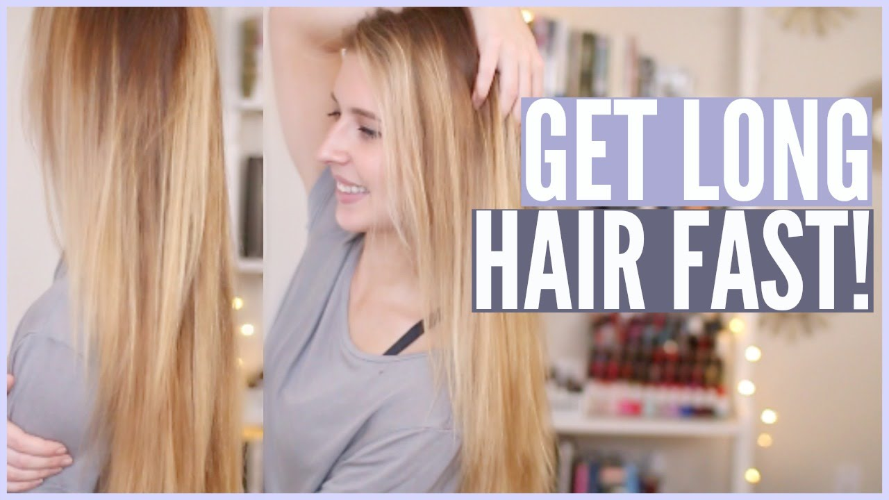 Get Long Hair Super Fast Natural Home Remedy Courtney Lundquist