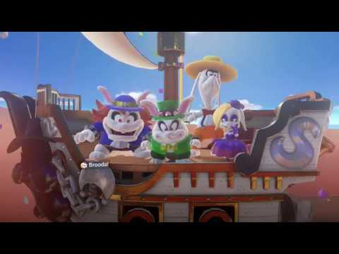 Super Mario Odyssey Harriet Boss Fight