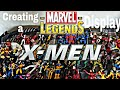 CREATING A DISPLAY: MARVEL LEGENDS X-MEN