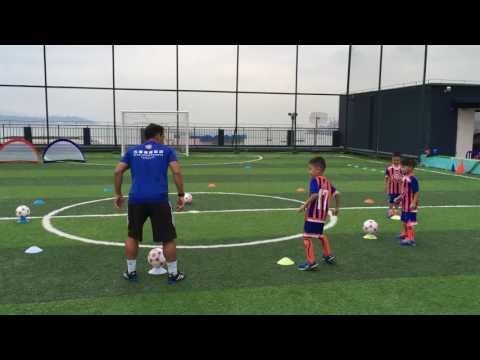 3 to 5 years old - Coach Thiago Melo soccer practice - Five-Star Sports - Shenzhen, China
