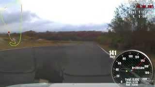 2014年10月27日 白老カーランド 路面:ドライ 車:GC8ノーマル.