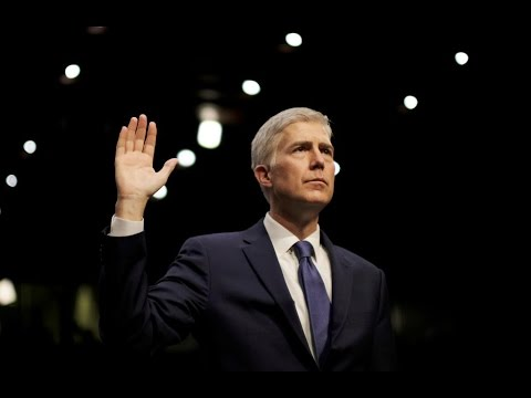 WATCH LIVE: Neil Gorsuch swearing-in as Associate Justice of the Supreme Court